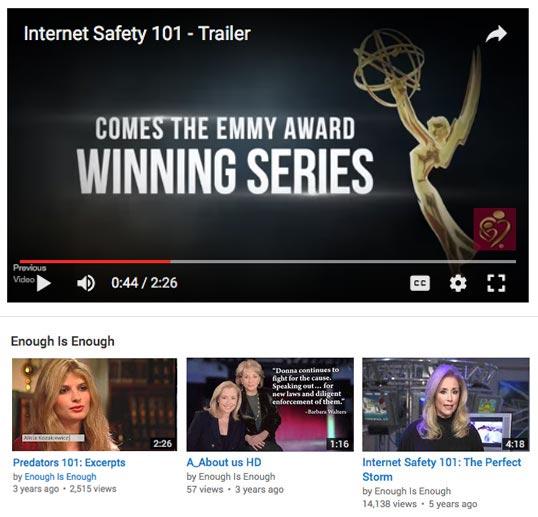 Youtube internet safety